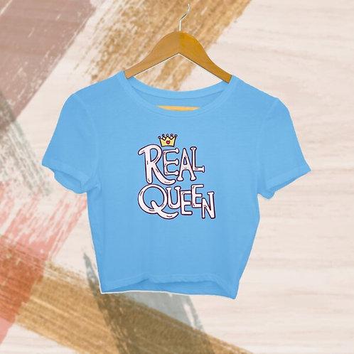 Real Queen Crop Top