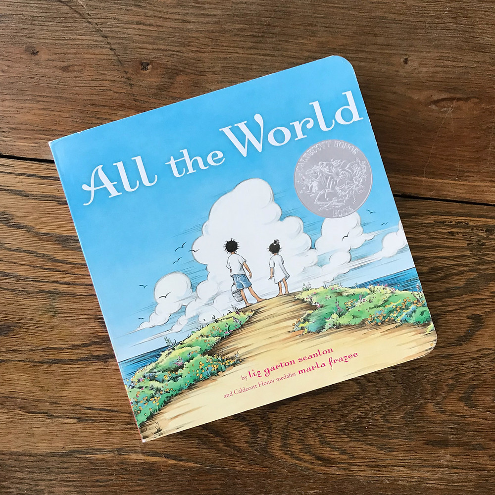 all the world, board, book