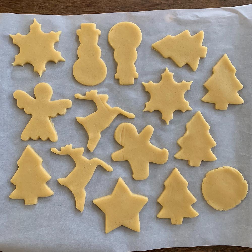 Miss Jones, Sugar cookies, cookie cutters, cookie decorating, Christmas, cookies