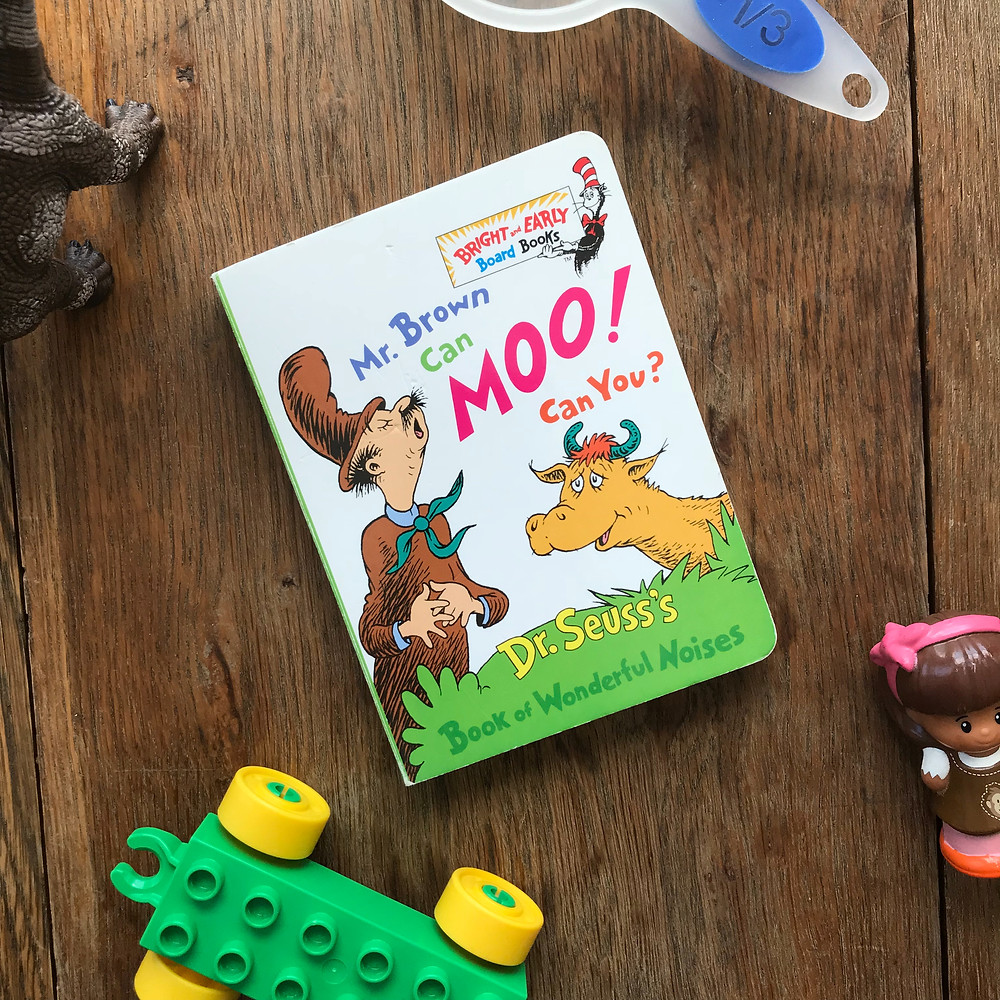 mr brown can moo, can you, board, book