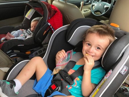 On the Move: Car Seats and Stroller