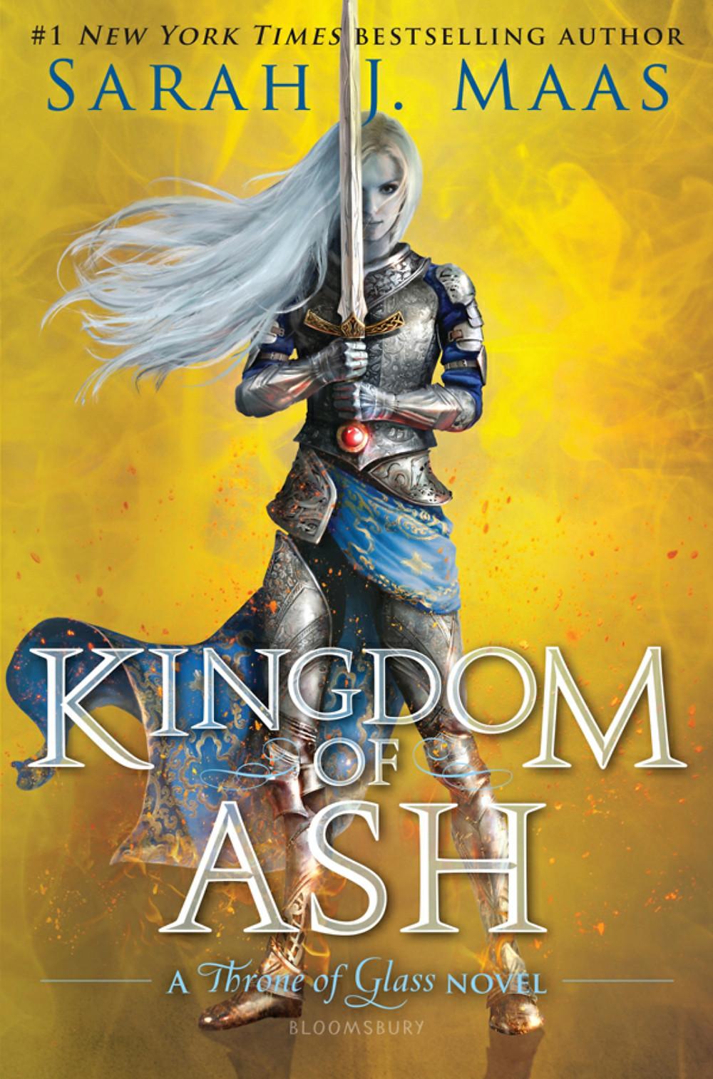 Kingdom of Ash, Sarah J. Maas, novel, book, read, throne of glass series