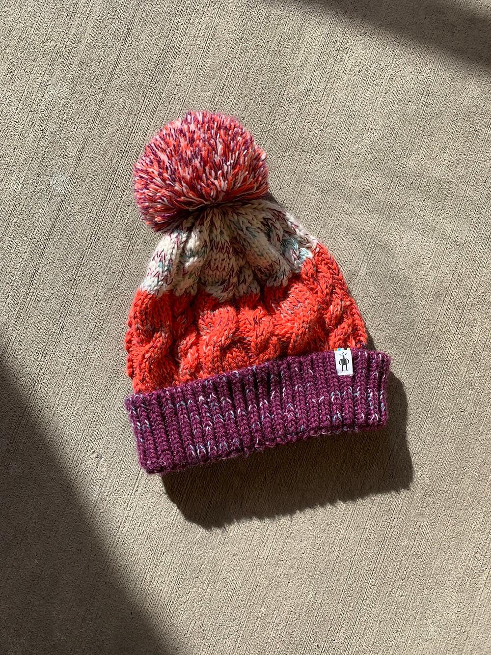 knit, smartwool, hat, winter, beanie