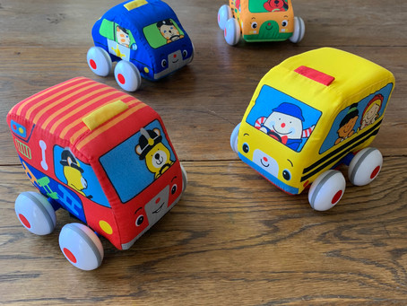 Favorite Toys: Pull-back Cars