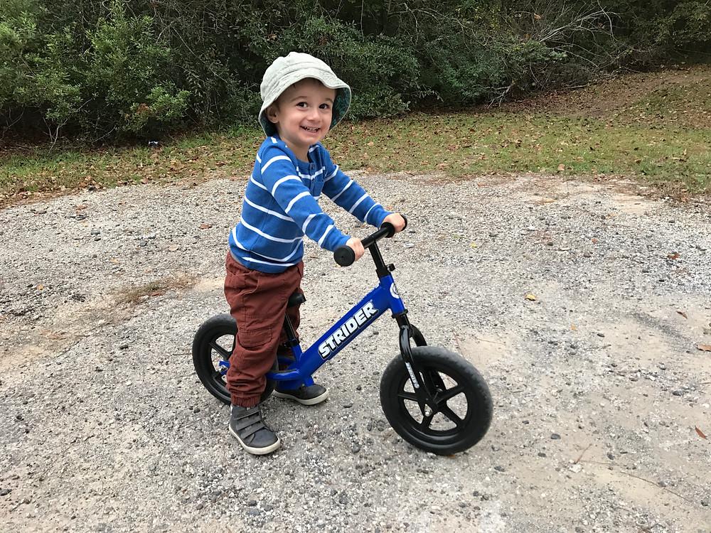 Strider, Bike, toddler, gift, guide
