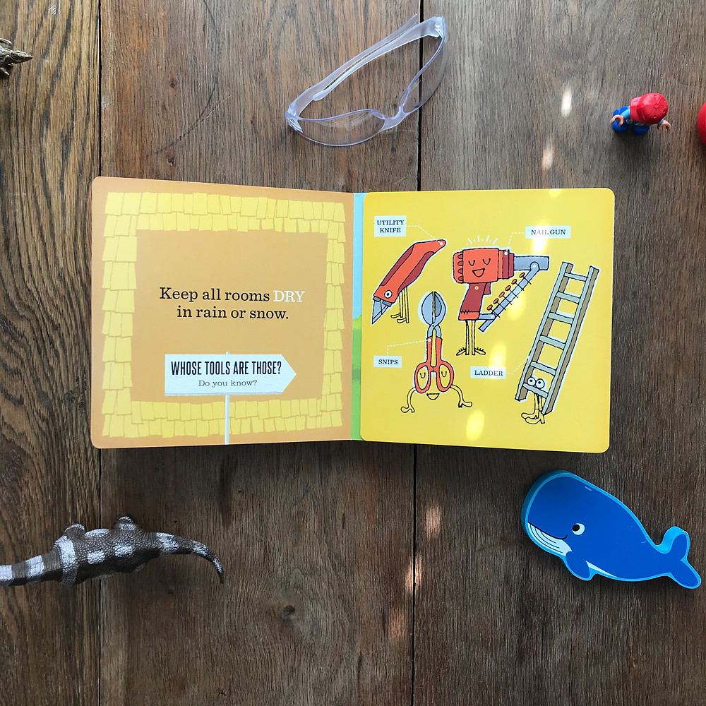 whose tools, board book