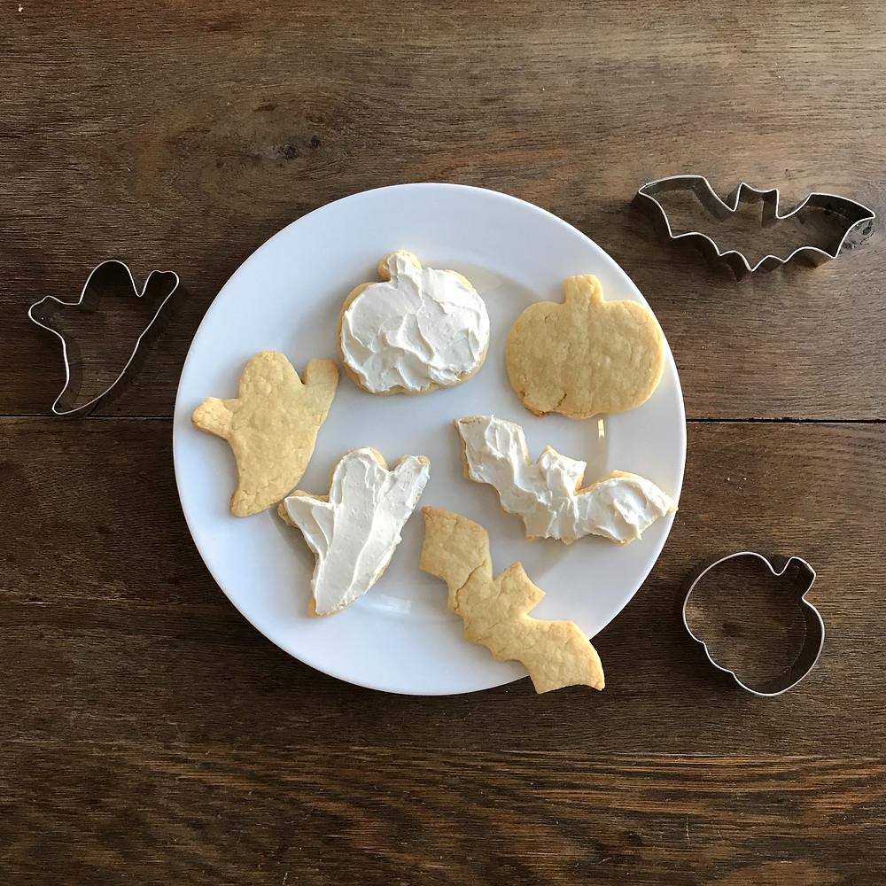 Miss Jones, Sugar cookies, cookie cutters, Halloween, Ann Clark