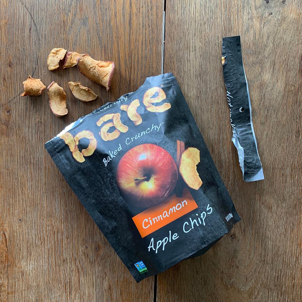 bare, apple, chips, cinnamon, snack, favorite