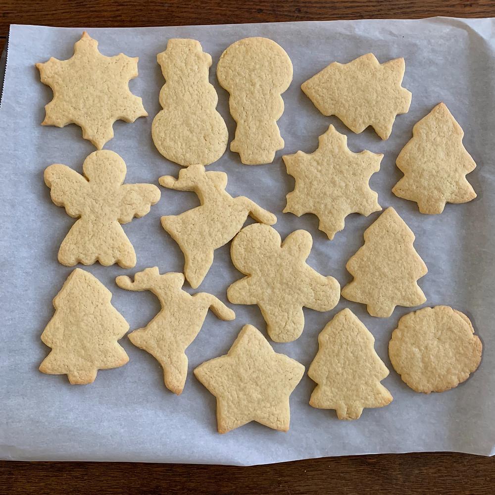 Miss Jones, cookies, sugar cookies, cookie decorating, Christmas, Ann Clark
