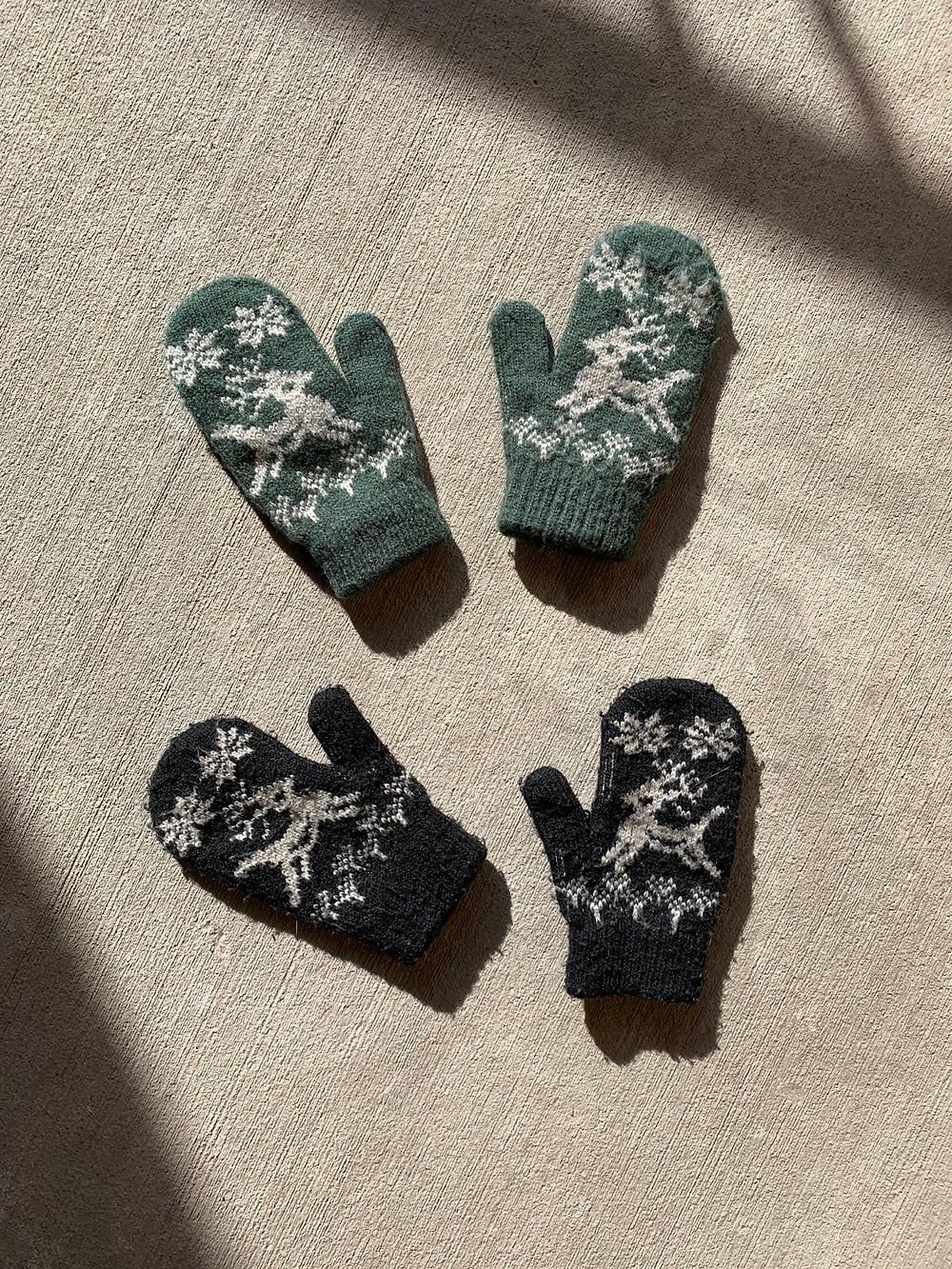 mittens, knit, kids, toddler, winter, gear