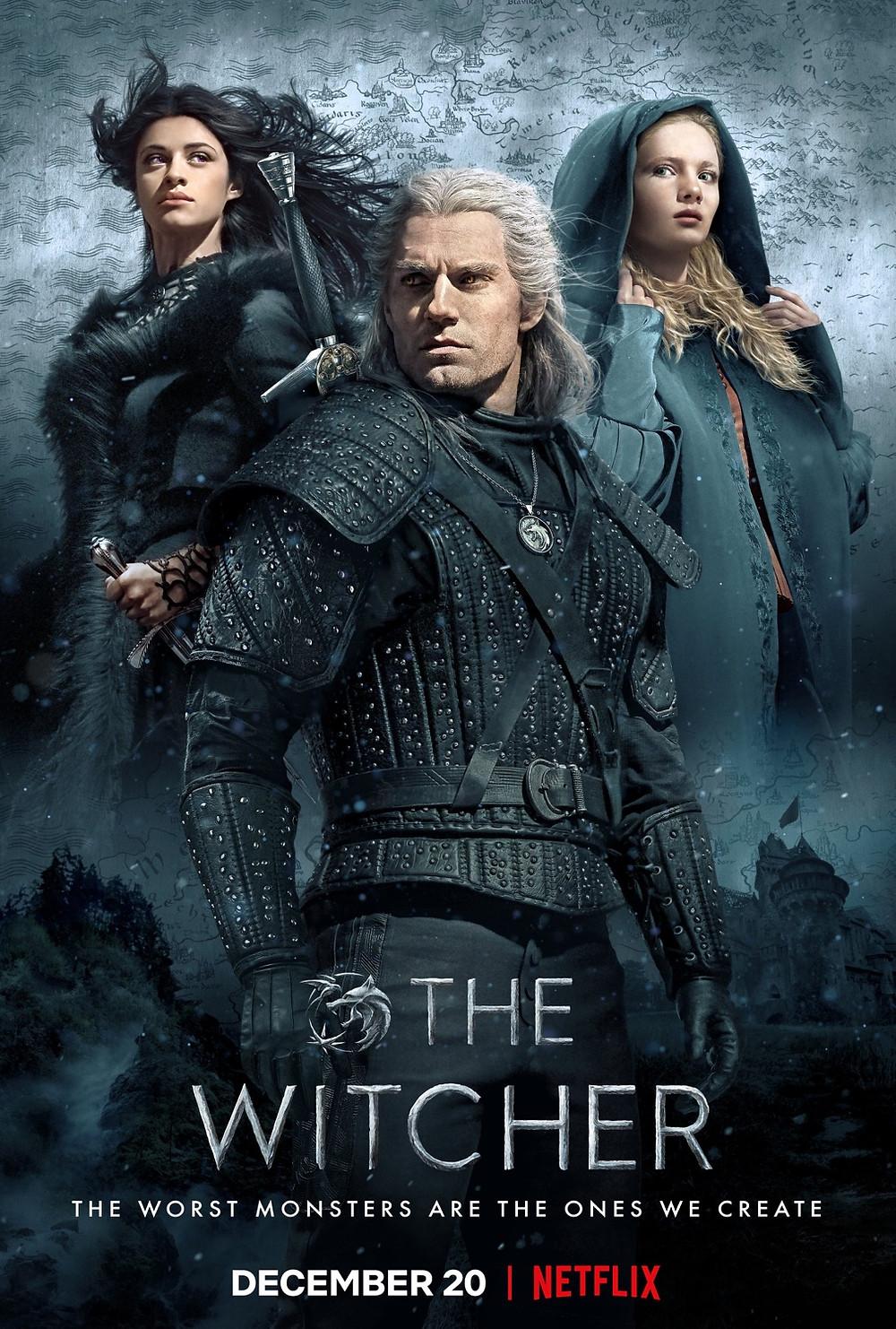 the witcher, netflix, show, henry cavill, geralt