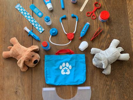 Favorite Toys: Pet Vet Play Set