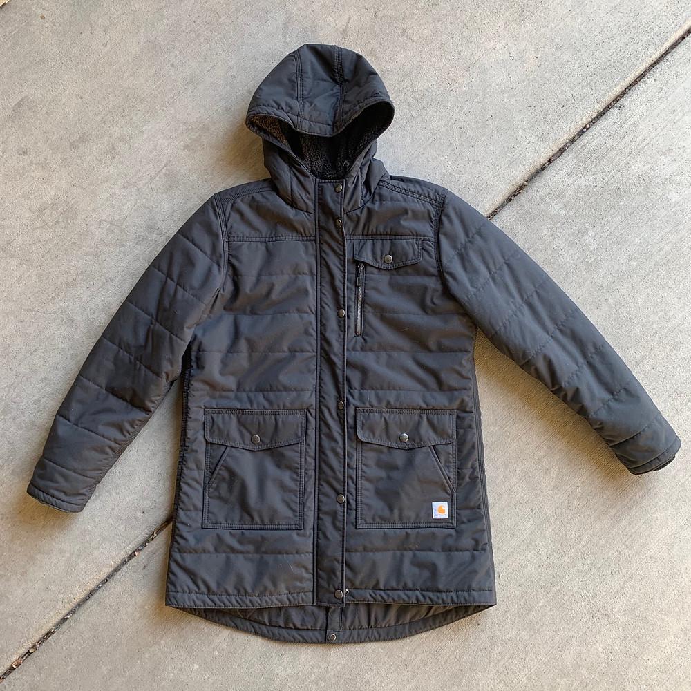 womens, utility, jacket, carhartt, coat, winter, waterproof