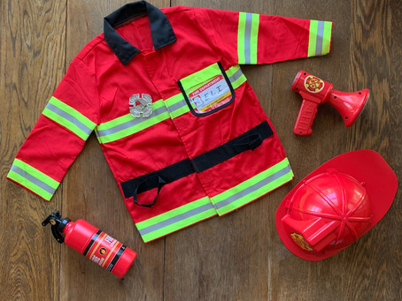 Favorite Toys: Fire Fighter Costume