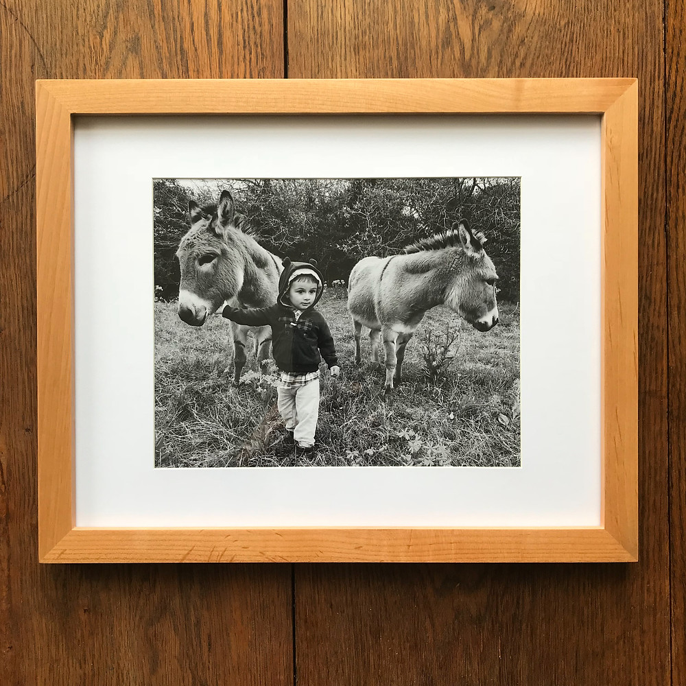 11 x 14 inch frame with mat and 8 x 10 inch photo