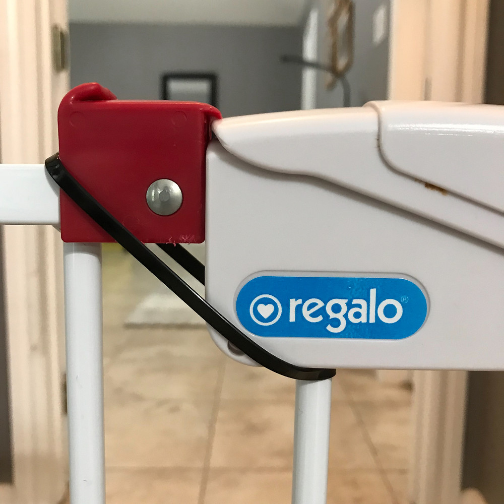 Regalo, baby gate, baby proof, safety, cable tie