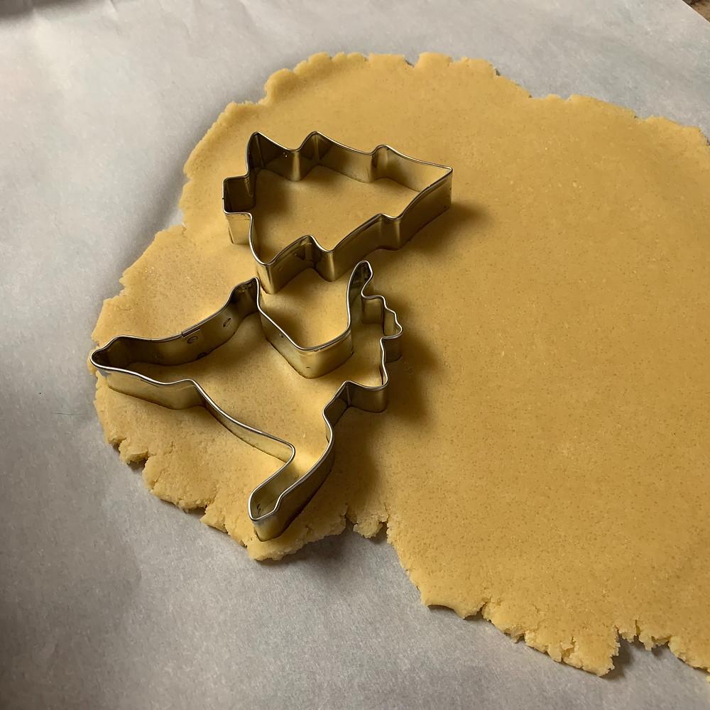 Miss Jones, Sugar cookies, baking, cookie cutter, Christmas, Ann Clark, cookies