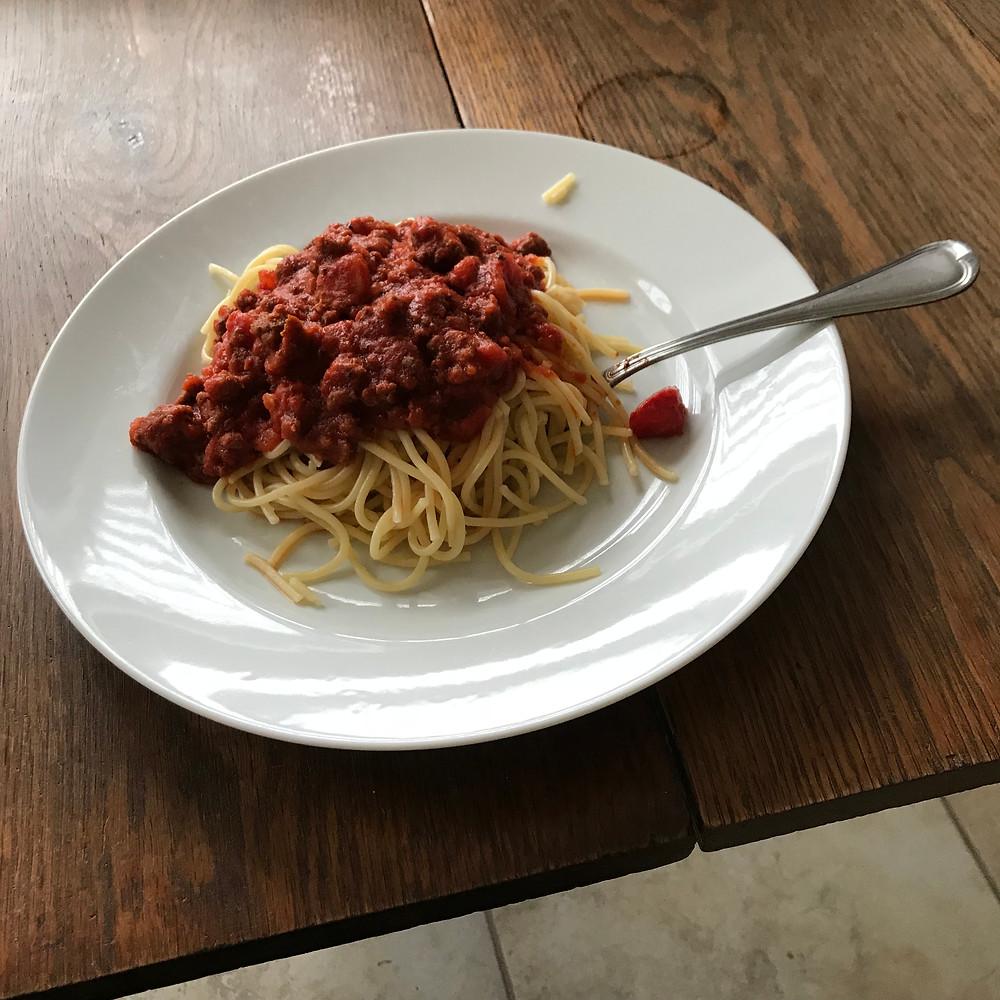 Spaghetti, Rao's, Homemade, Arrabbiata, Sauce