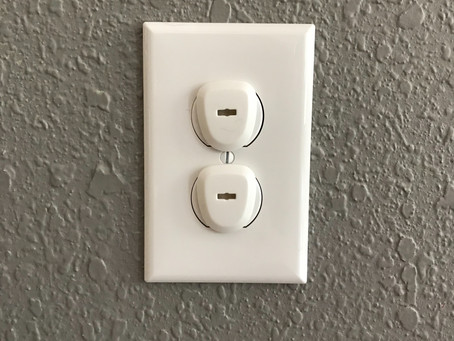 Baby Proofing: Outlet Covers, Cabinet Locks, Wall Anchors