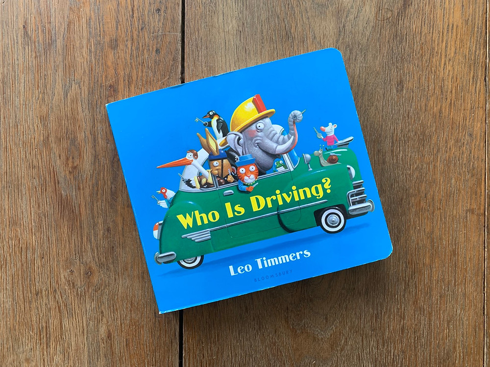 who is driving, board, book