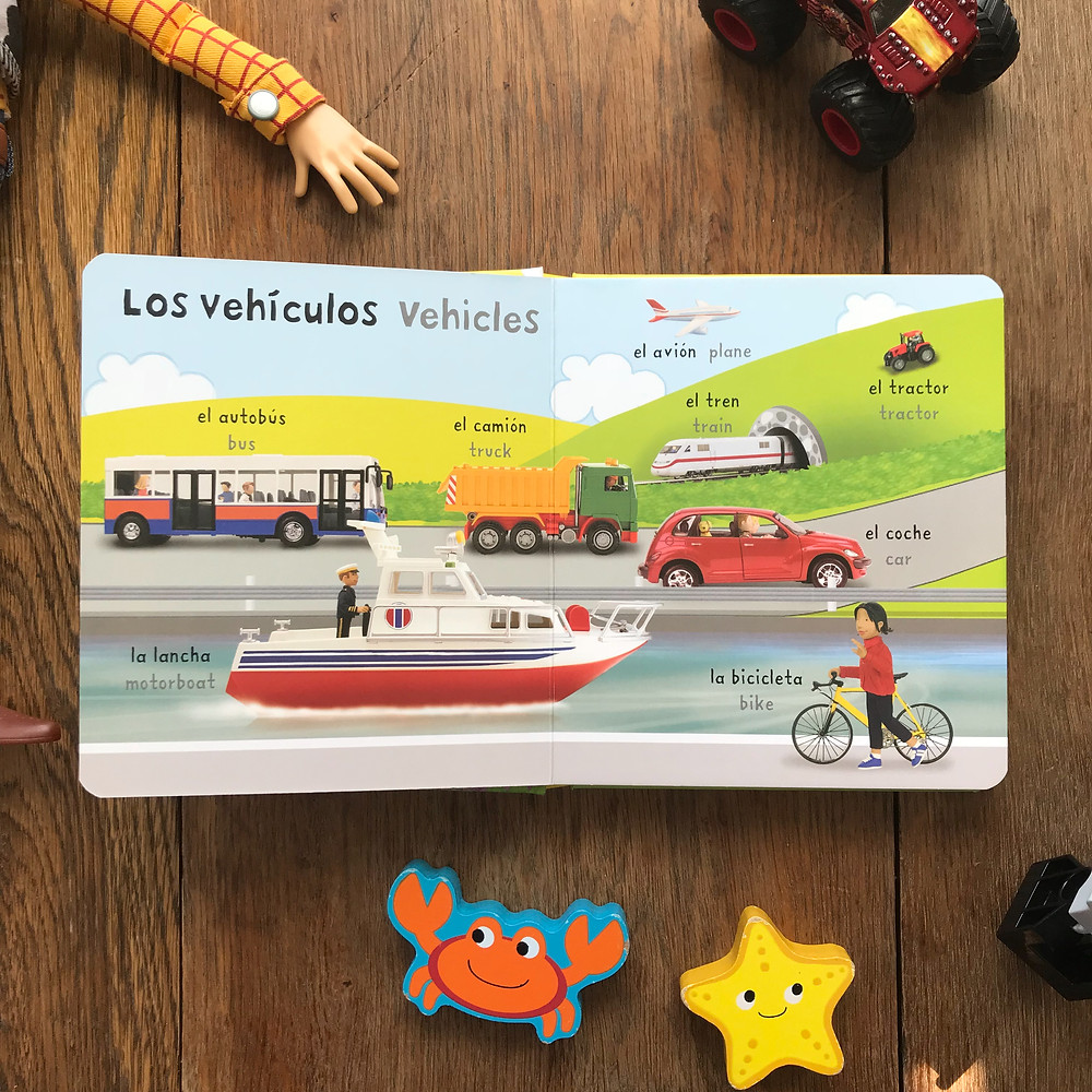 very first words in spanish, mis premeras palabras en espanol, spanish words, first spanish, spanish, toddlers, kids, book, book, read