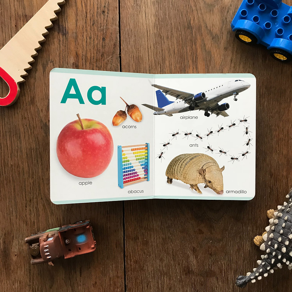 my first abc, board, book