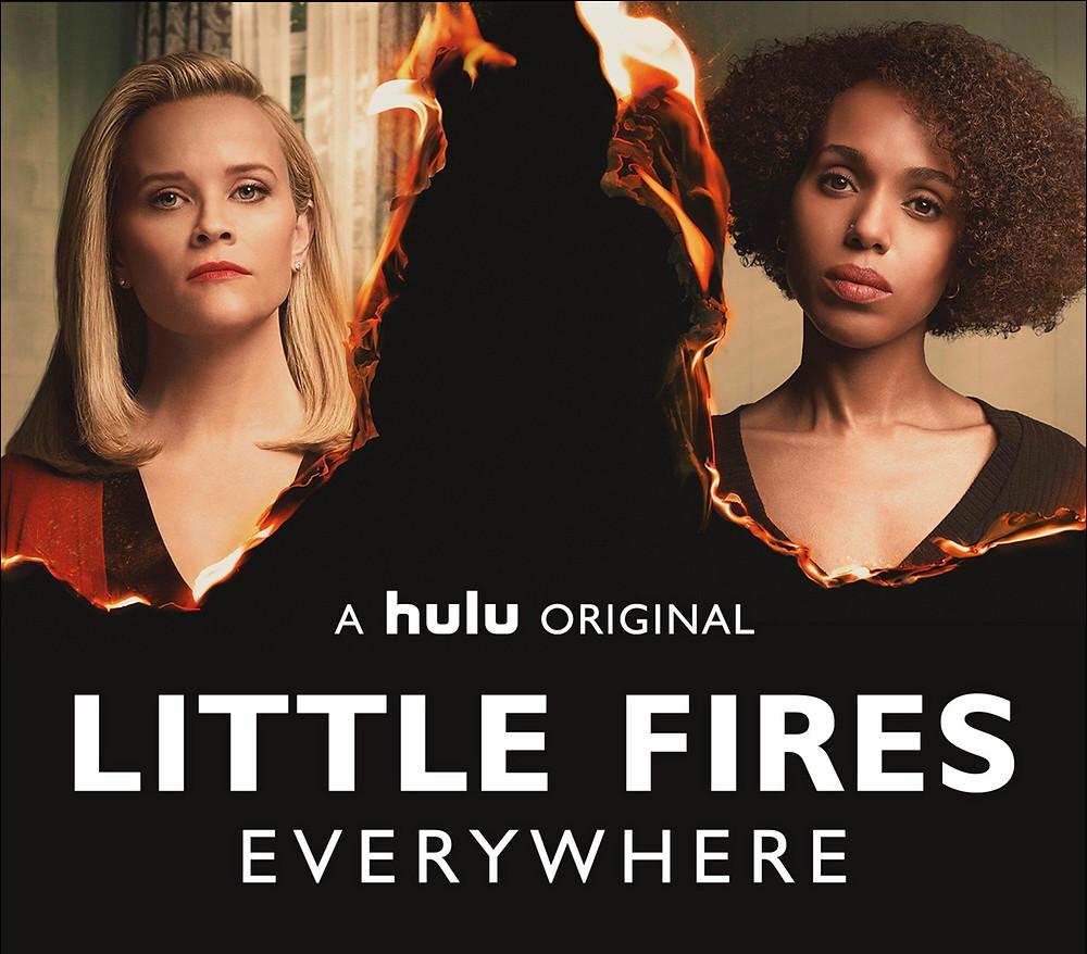 little fires everywhere, little, fires, everywhere, reese, witherspoon, kerry washington, stream, hulu, show, watch