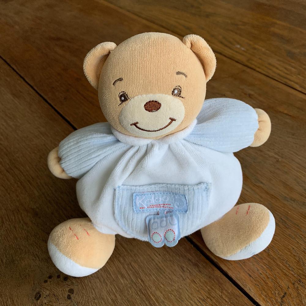 kaloo, bear, stuffed, toy, toys, p'tit, ourson, blog
