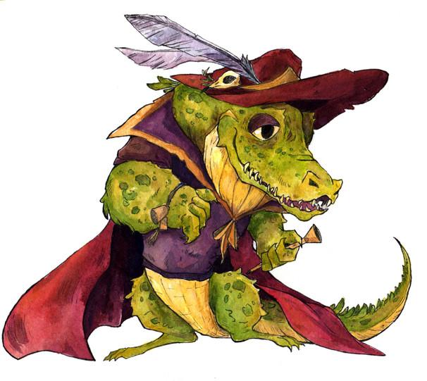 Zeke the Gator
