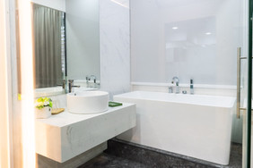 Hotel Washroom Mockup