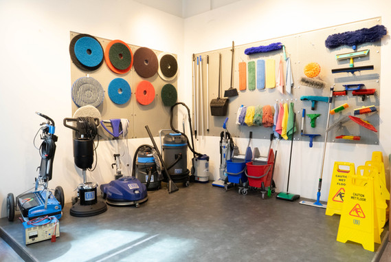 Cleaning Equipment Showcase