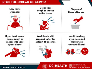 Coronavirus Information - Help stop the spread of germs!
