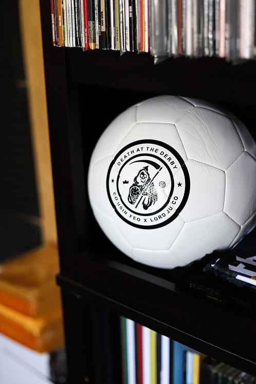 """""""Death At The Derby"""" Soccer Ball"""