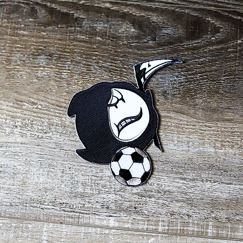 """""""Ghost At The Derby"""" Custom Patch"""