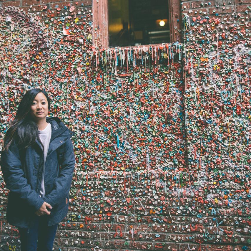 Me at Gum Wall