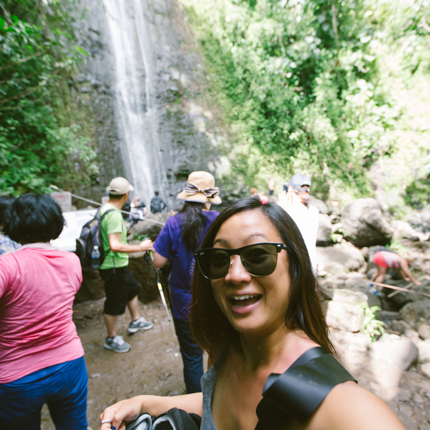 Me at the Falls