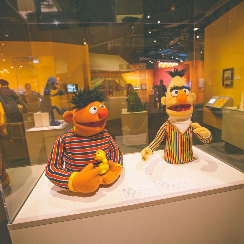 Childhood Bert and Ernie