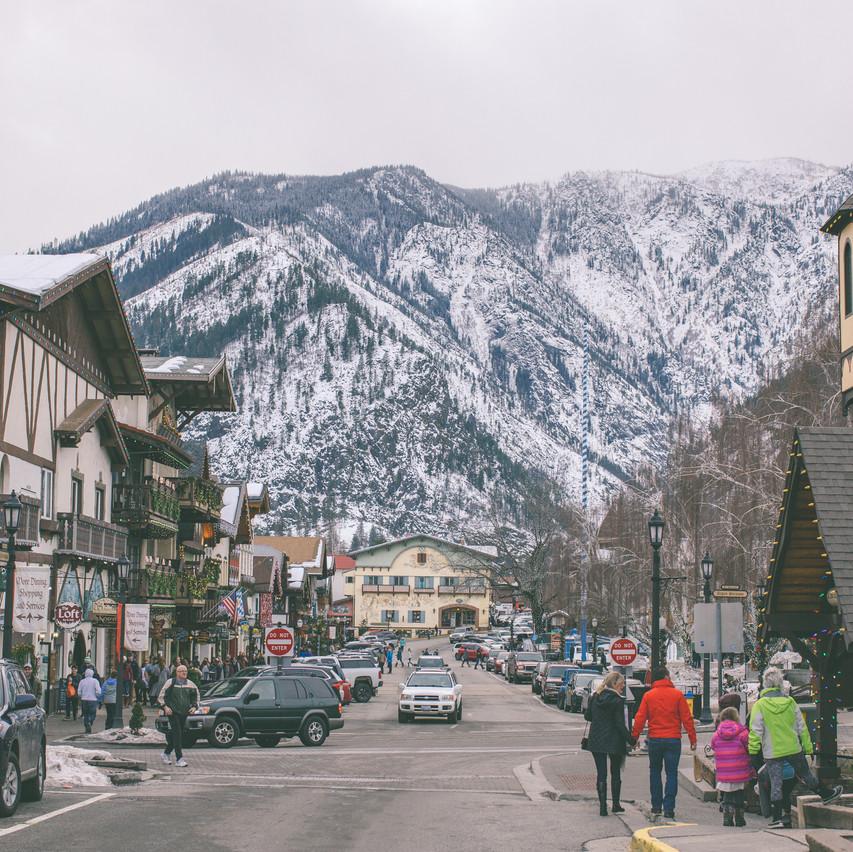 Bavarian Mountain Town