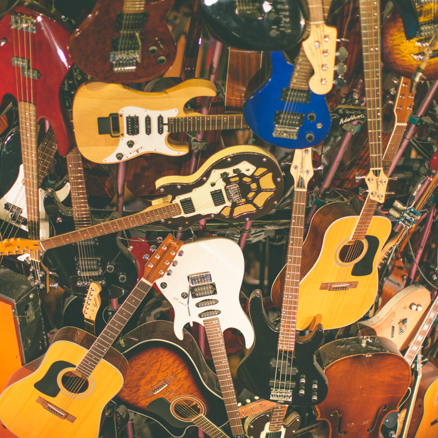 More of the Guitars