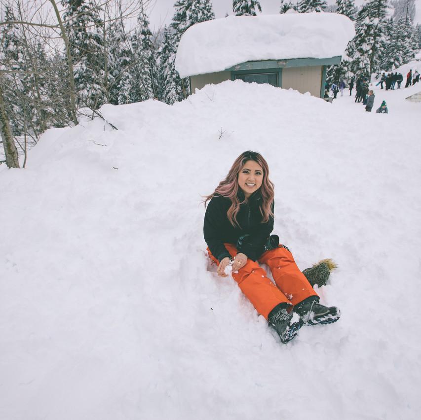 Sister in Snow