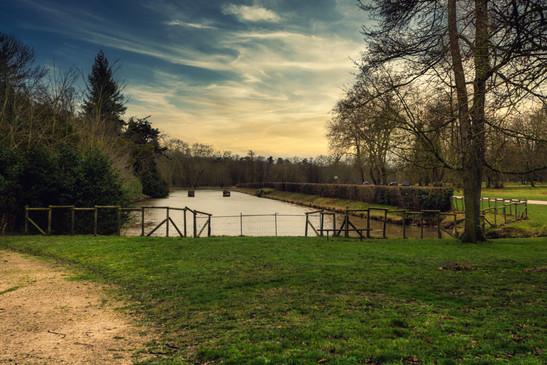 Lake of Rambouillet France