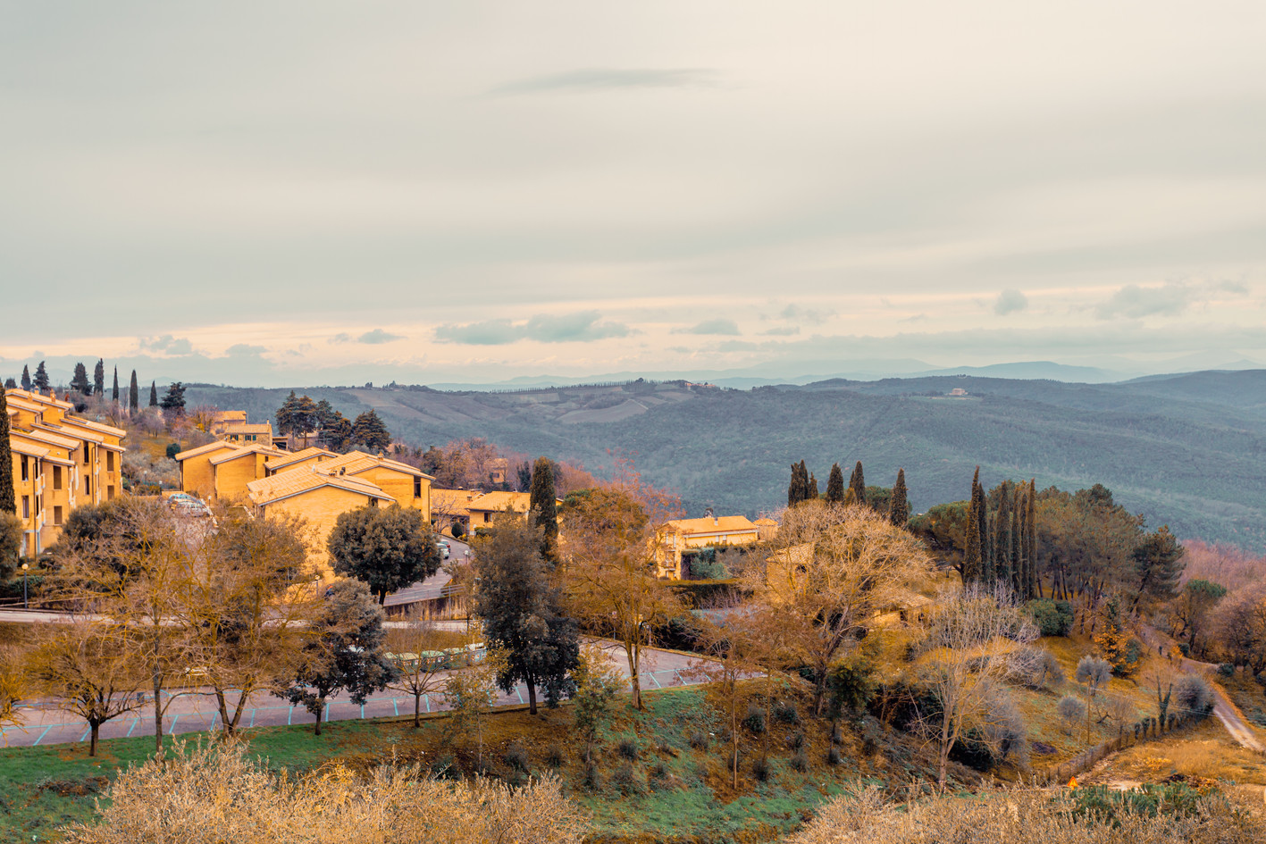View of Chianti Village Florence