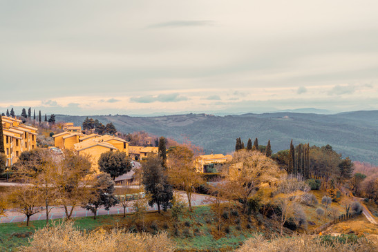 View of Chianti Village Florence