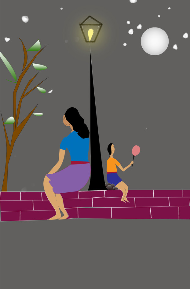 Woman under stars illustration.jpg