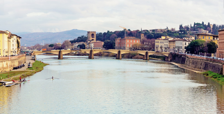 From Ponte Vecchio Florence