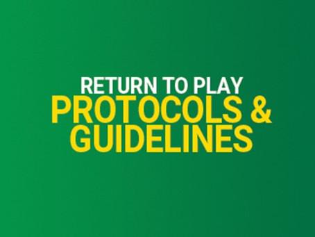 Return to Play is around the corner !!!
