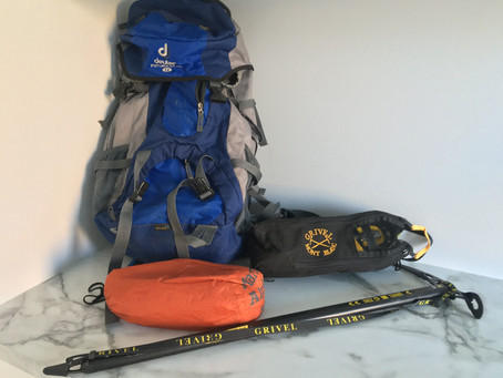 What's in my pack - winter day trip