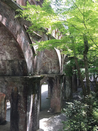 Suirokaku, un aqueduc surélevé
