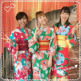 Cool et mignonne avec un yukata en été ♪