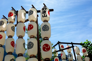 Tour du festival de Gion avec l'ancienne Maiko san ☆